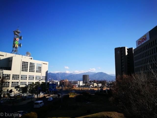 長野、日本晴れ