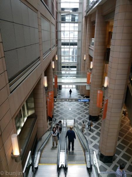 The atrium of SANCHA Carrot Tower