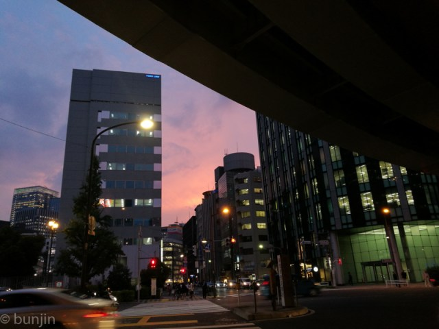 日本橋夕景