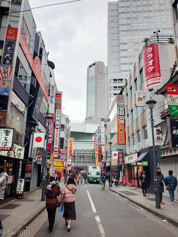 A Shibuya street