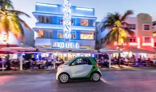 smart electric drive, Pressefahrvorstellung Miami 2016, smart el