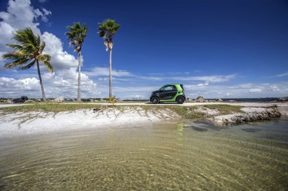 smart electric drive, Pressefahrvorstellung Miami 2016; smart electric drive, press test drive Miami 2016