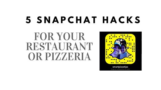 5 Snapchat hacks for restaurant (2)