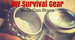 DIY Survival Gear Soda Can Stove