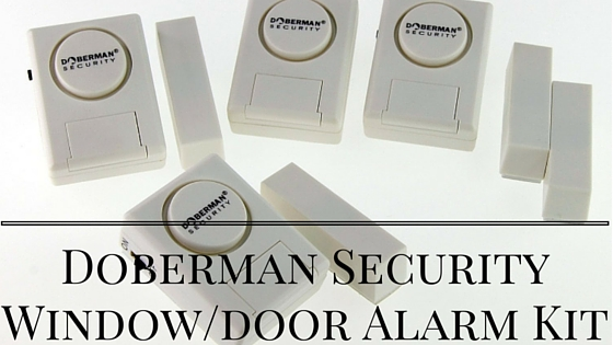 Doberman Security Window door Alarm Kit