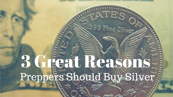 preppers buy silver