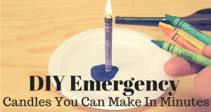 diy emergency candles