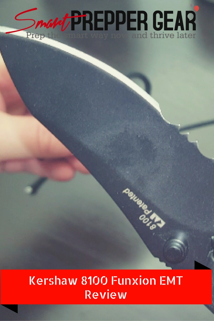 Kershaw 8100 Funxion EMT with SpeedSafe Review pinterest