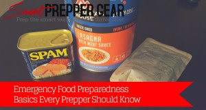 emergency food preparedness