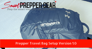 prepper travel bag