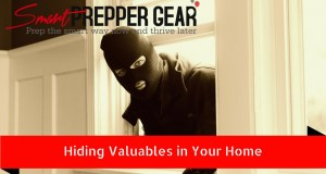 hiding valuables in your home