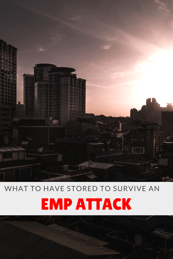 What To Have Stored To Survive An EMP Attack pinterest