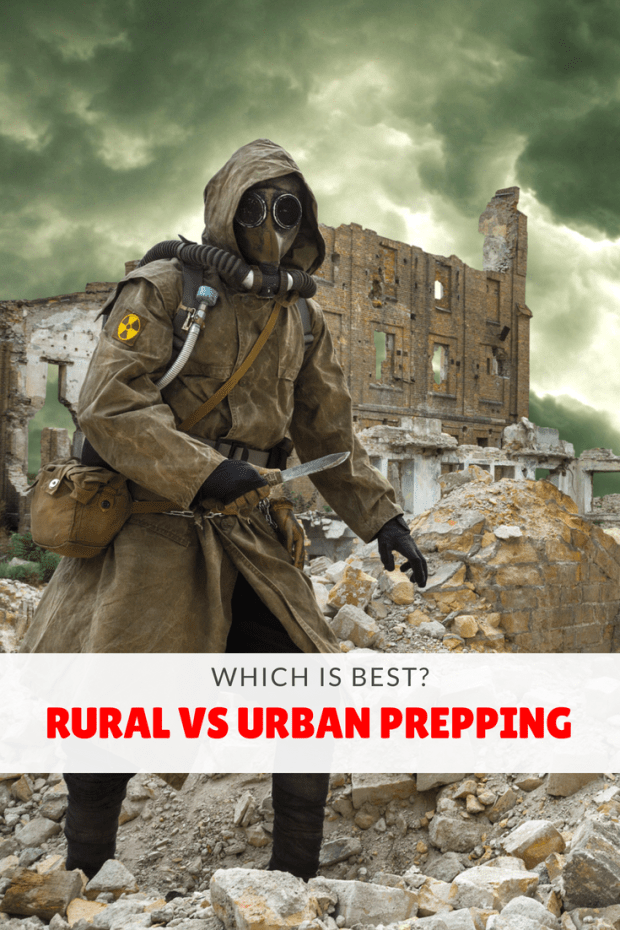 rural vs urban prepping pinterest