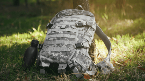 where to store your bug out bag