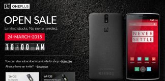Oneplus one open sale