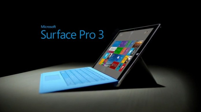 microsoft surface 3 release date