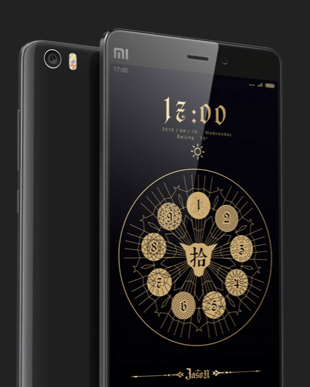 Xiaomi Mi Note Black edition launch