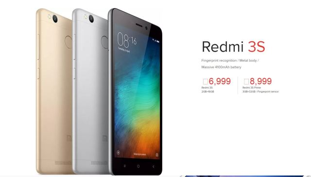 Redmi 3s prime india price