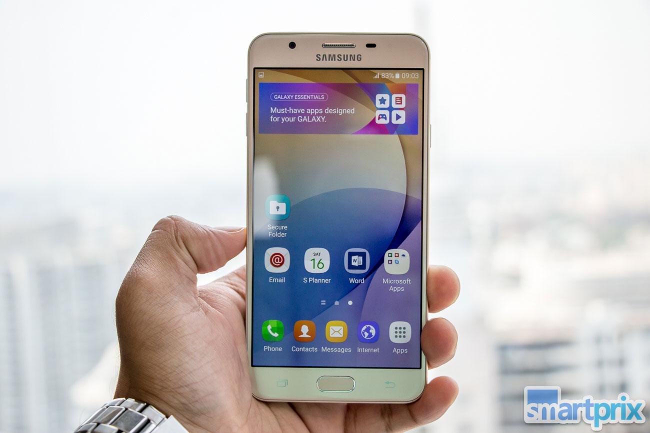 Samsung Galaxy J7 Prime J5 Hands On First Impression