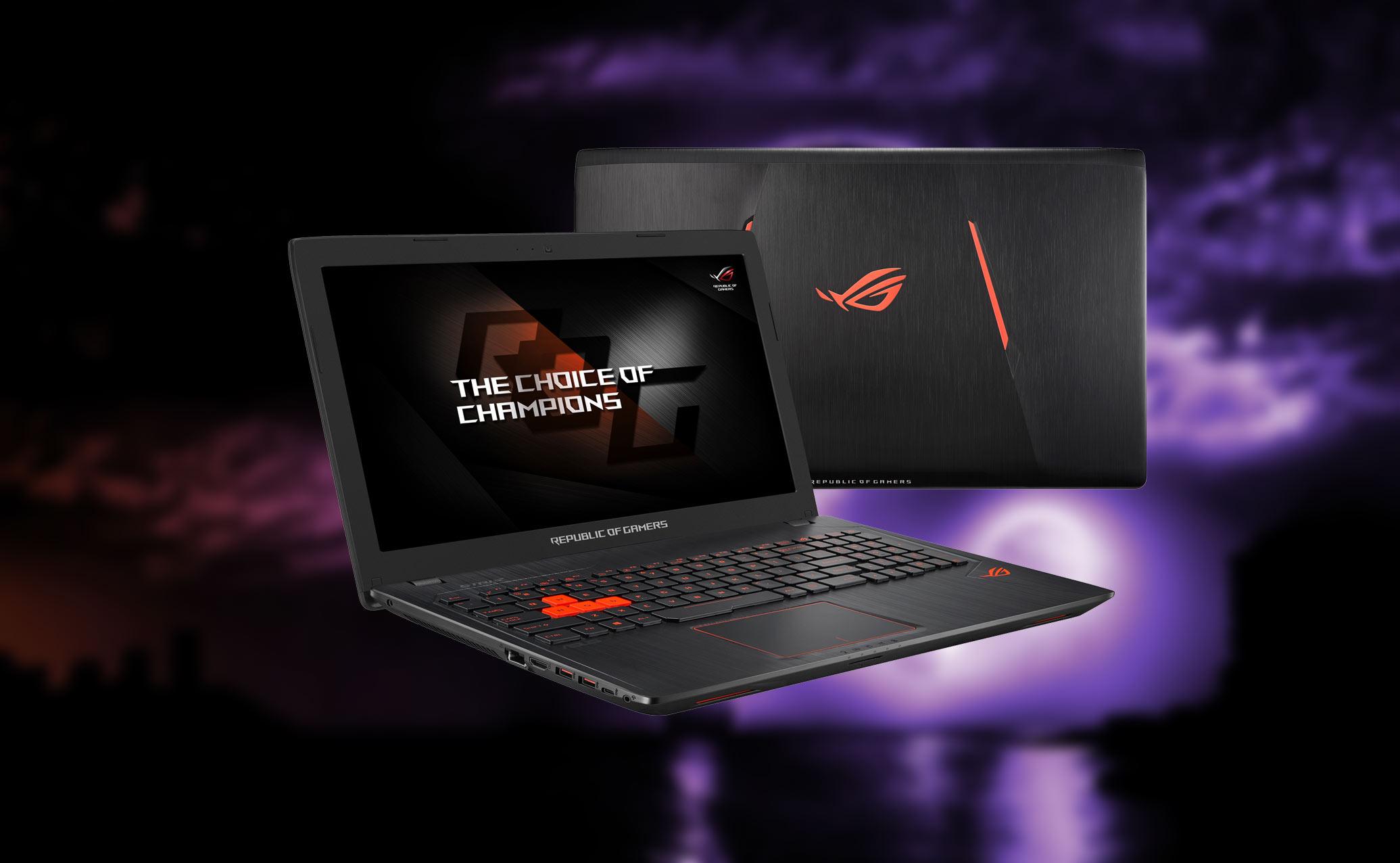 Asus Rog Strix Gl553 Gaming Laptop With Rgb Backlit Keyboard Ve Asuss Latest Set Of