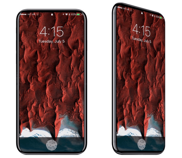 iPhone 8-render