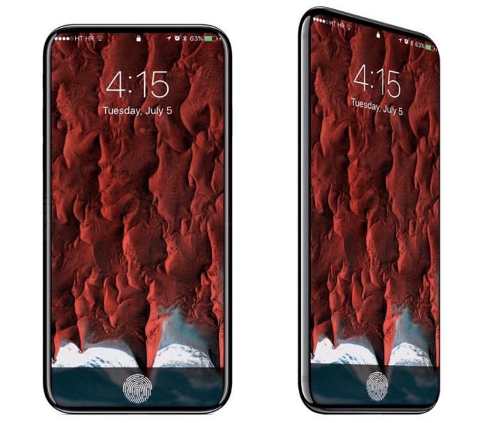 iPhone 8-render