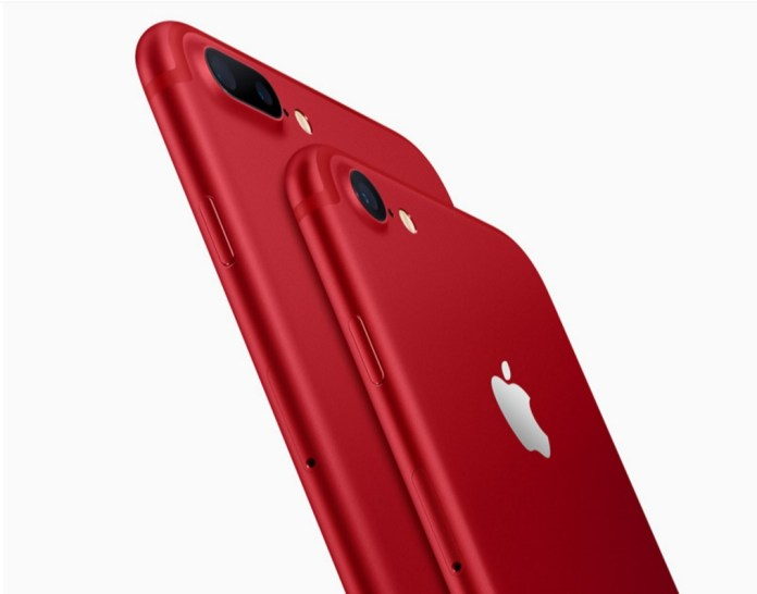 iphone red color