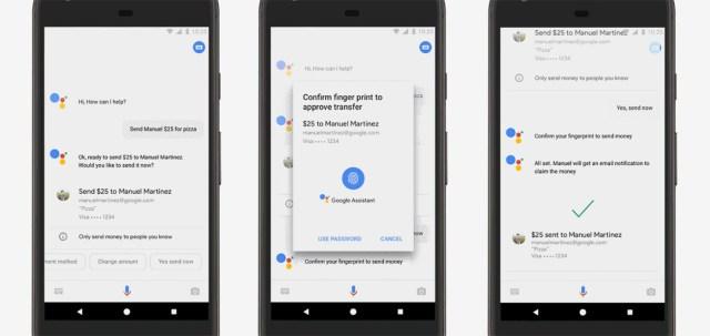 google assistant payment