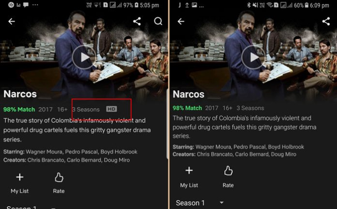 List Of Phones That Support HD Streaming On Netflix, Amazon