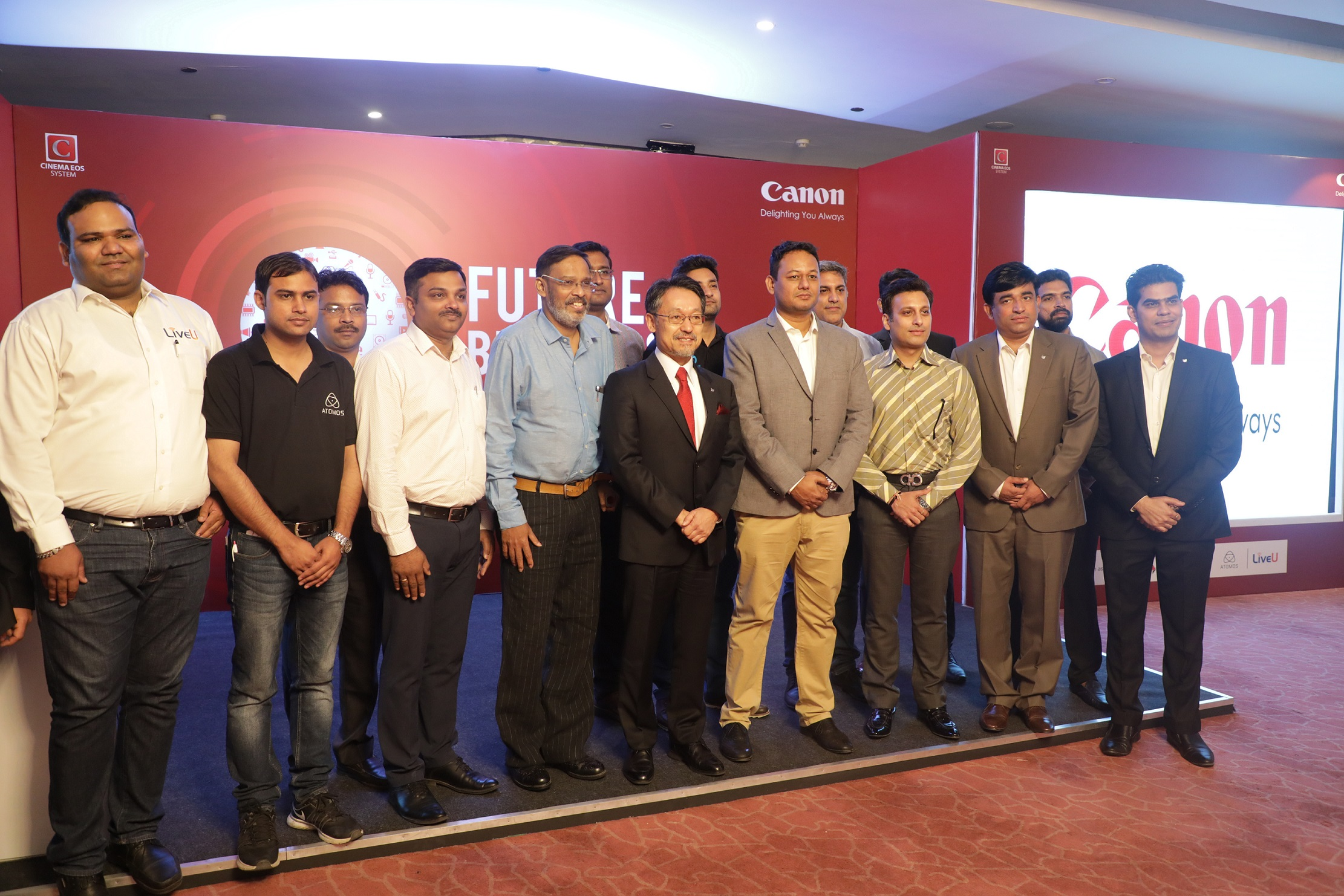 Canon 6th Edition 'Future Broadcasting' Workshop Reaches New
