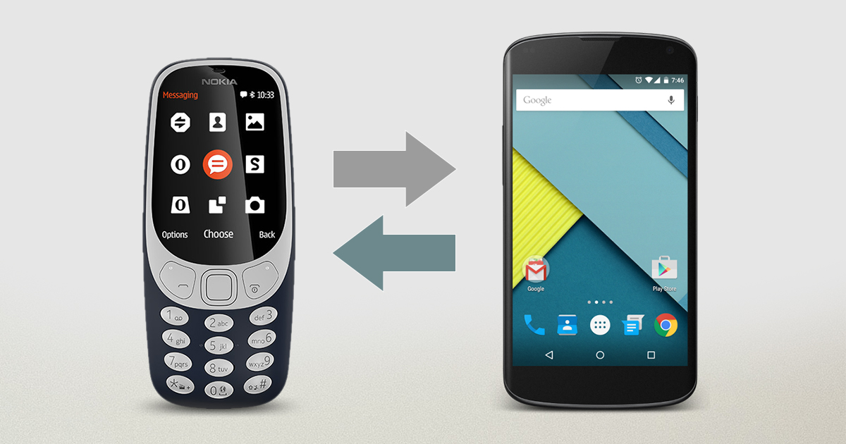 How to transfer contacts from Simple Feature Phone To