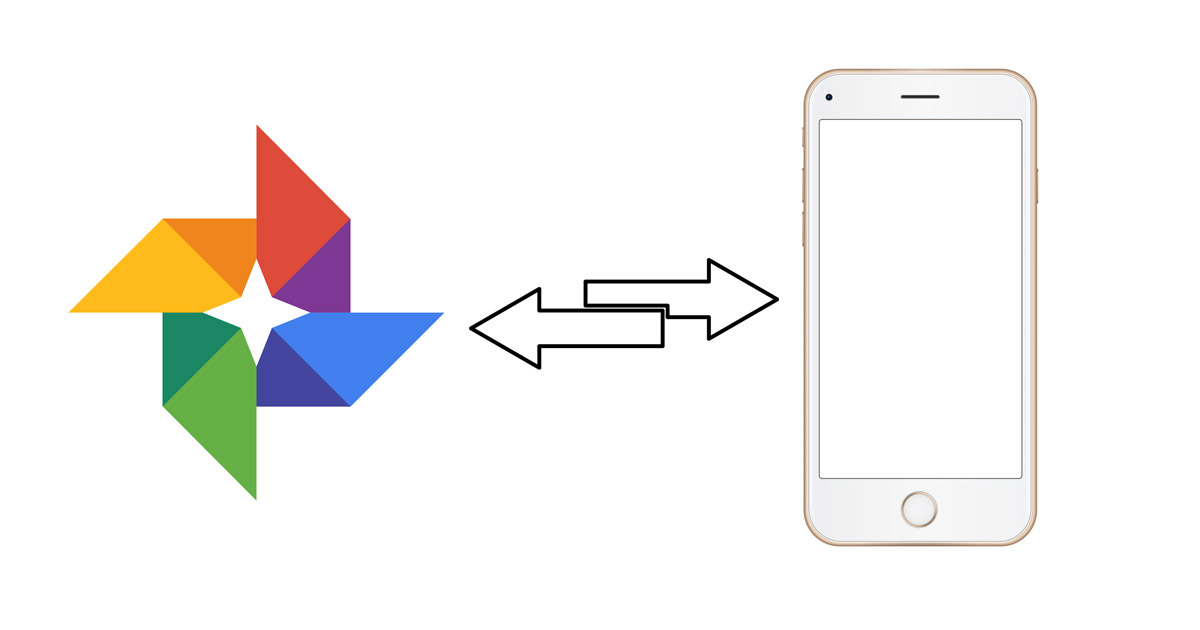 How to transfer back multiple images from Google Photos to your