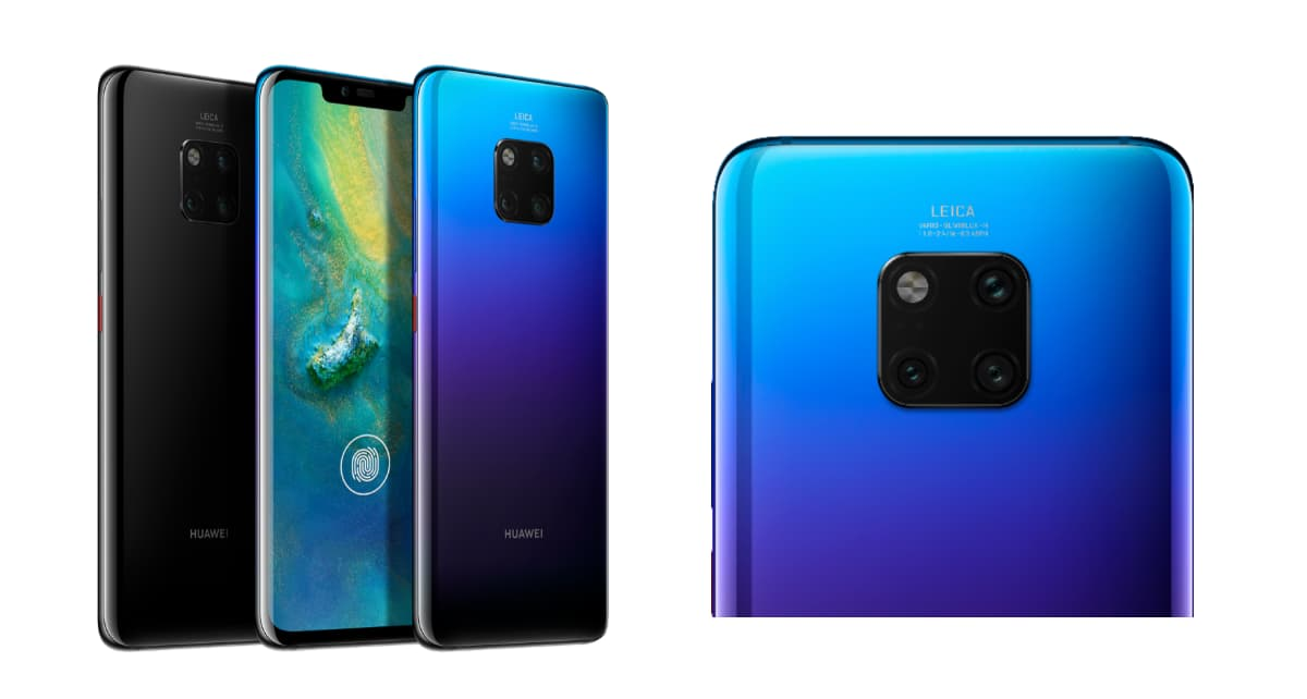 Huawei Mate 20 Pro Launched India Price Features And Specifications
