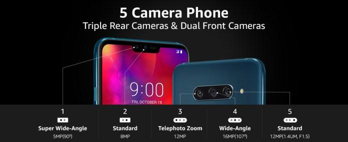 LG V40 ThinQ (Source: Amazon)