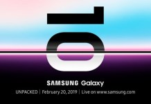 Galaxy S10 launch Unpacked event