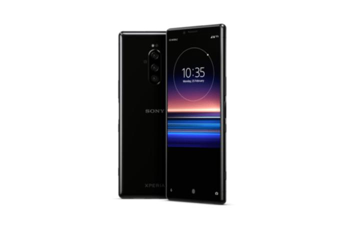 Sony Xperia 1 triple camera