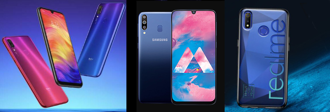 Xiaomi Redmi Note 7 vs Samsung Galaxy M30 vs Realme 3: Which