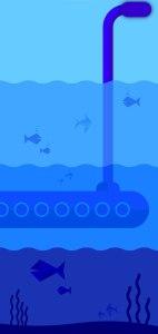 Download Submarine Samsung Galaxy S10 Plus wallpaper