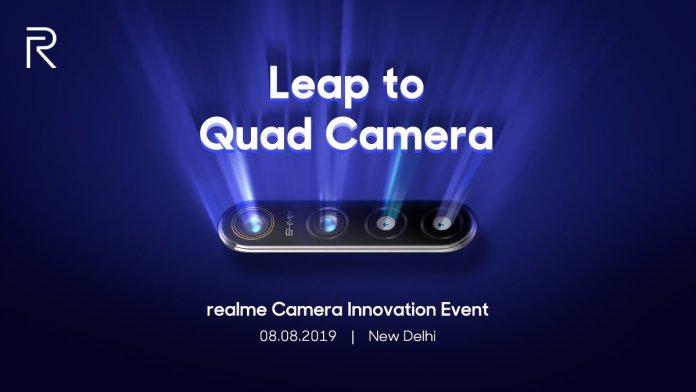 Realme Quad Camera phone