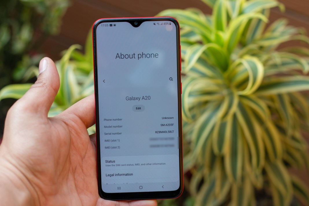 Samsung Galaxy A20 review with pro and cons india 3