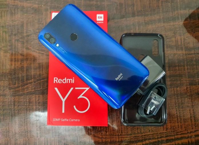 Xiaomi Redmi Y3 Unboxing