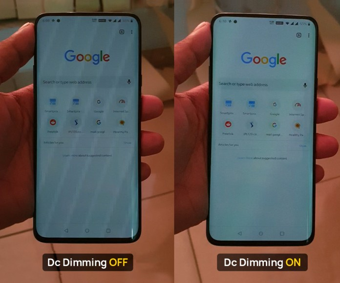 What is DC Dimming? How to enable on Xiaomi, OnePlus, Realme