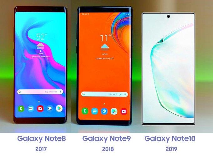 Samsung Galaxy Note 10 design