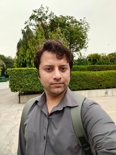Selfie shot on Realme X