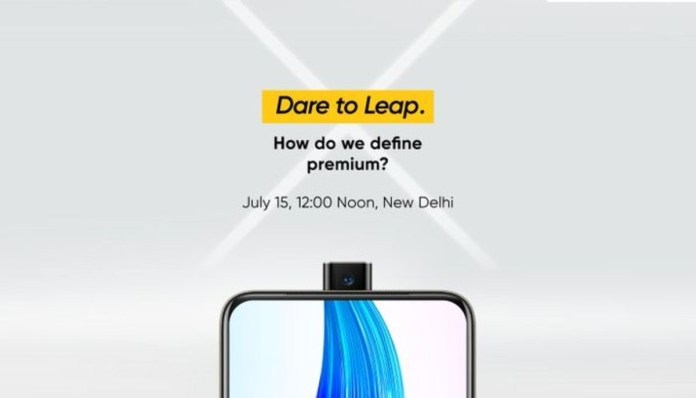 Realme X launching in India on July 15