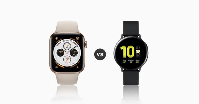 Galaxy Active 2 vs Apple Series 4