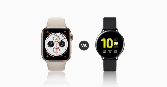 Galaxy Active 2 vs Apple Series 4