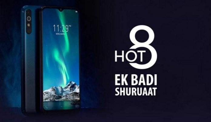 infinix-hot8 launch india