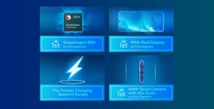 Realme X2 Pro features