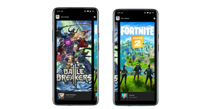 Epic Games available on Android